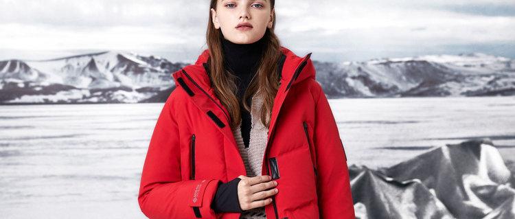 GORE-TEX INFINIUM防风保暖鹅绒连帽短款B90142828