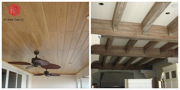 Wood Ceiling Installation Boca Raton