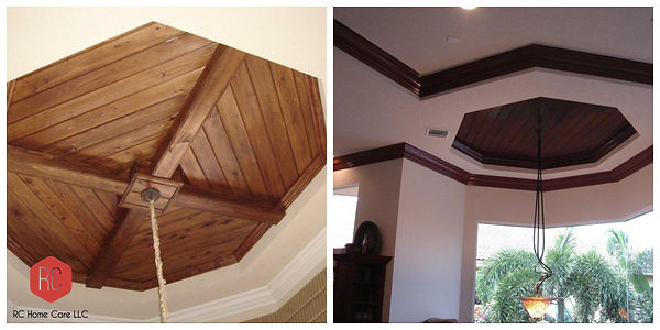 Wood Ceiling Installation Delray Beach