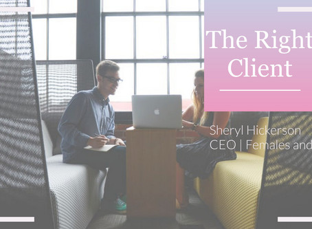 How to know you're working with the right client
