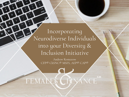Guest Blog: Incorporating Neurodiverse Individuals into your Diversity & Inclusion Initiative