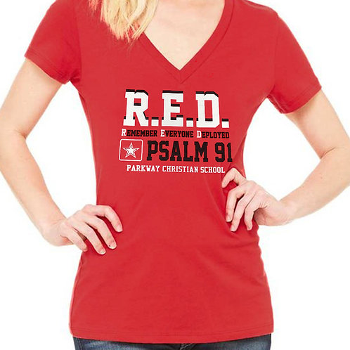 R.E.D Support those Deployed