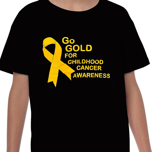 Go For Gold  Adult T-Shirt