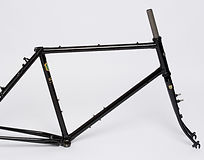 Kibo Rohloff ahead frame - Reynolds 631 steel frame and forks hand built in England