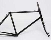 Kibo Rohloff ahead frame - Reynolds 631 steel frame and forks hand built in England