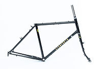 "Kibo+ ahead frame with 1 1/8"" threadless steerer"