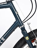 Kibo Rohloff for quill stem - lugged frame hand built in the UK using the strongest gauge of Reynolds 631 tubing