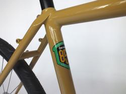 Reynolds 853 fillet brazed frame