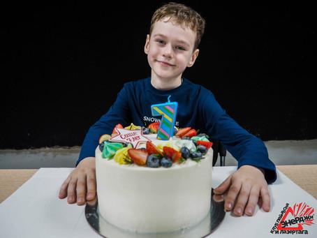 Анимационная программа на детский день рождения | Клуб Энерджи | Саранск