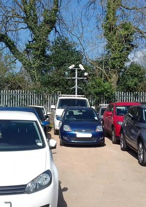 Secure A4 Parking