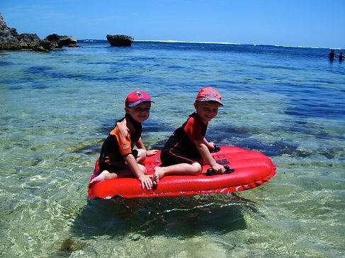 Family friendly beach Gnarabup Margaret River