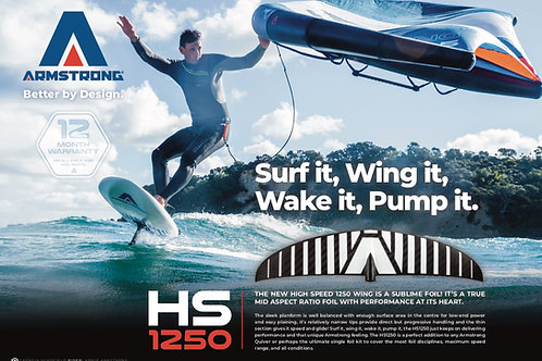 Armstrong HS1250 Foil Kit A+ System (85cm Mast)