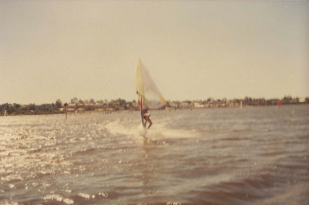 Simon Peters Windsurfing