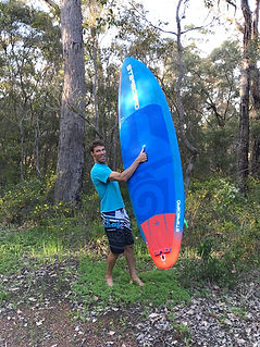 Simon Peters Windsurfing in Margaret River