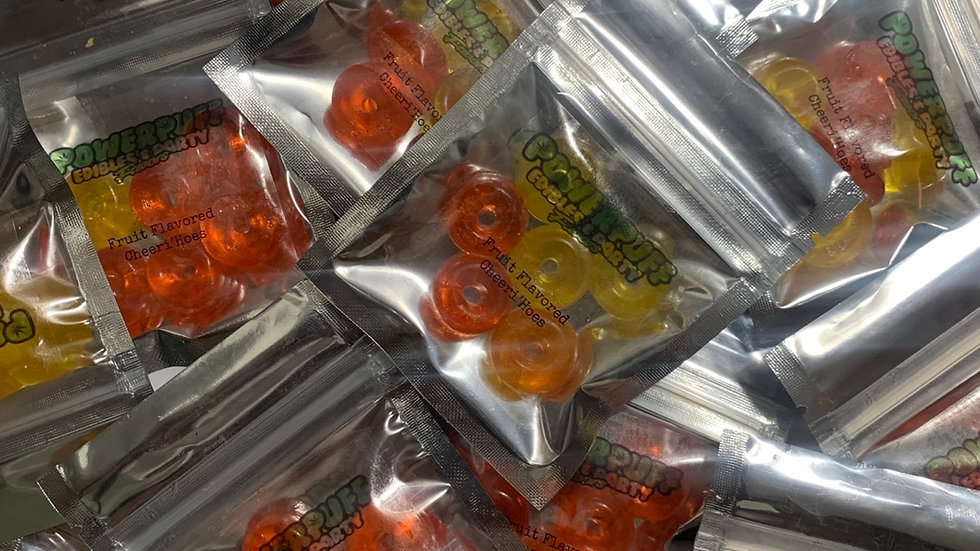 Cheeri'Hoes (100mg) Gummy Exotic Flavored Candy