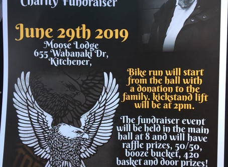 Paul White's Spread Your Wings Ride And Fundraiser