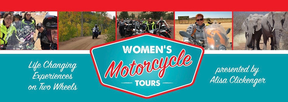 Logo for Women's Motorcycle Tours