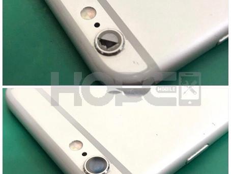 iPhone6S カメラレンズカバー割れ