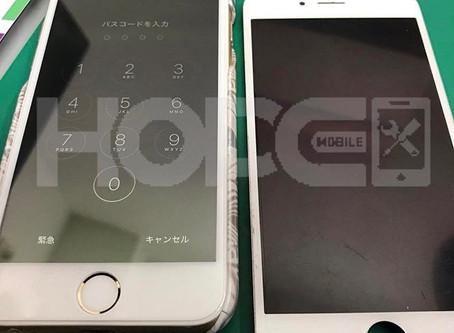iPhone6  バックライト不良