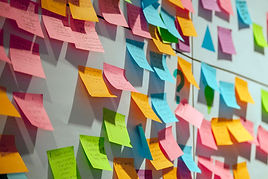 Post It requirements gathering