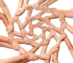 Teamwork - many hands sm