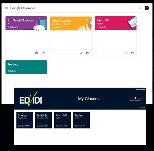 Google Classroom Integration