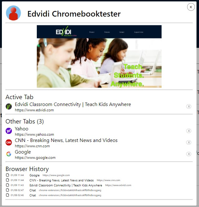 Detail View and Browser History
