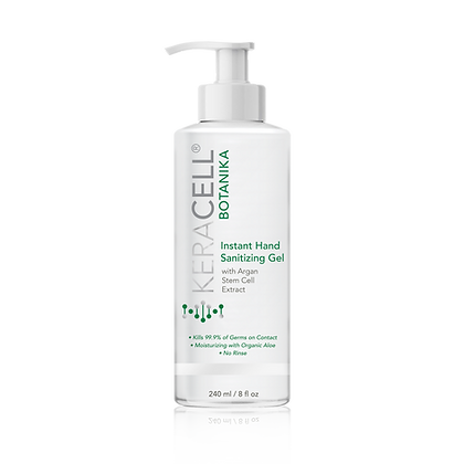 Instant Hand Sanitizing Gel with Argan Stem Cell Extract