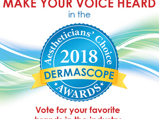 VOTE for KERACELL® V-SHAPE Neck & Decollete'!! www.Dermascope.com/ACA/vote  AESTHETICIANS&#3