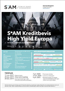 SAM.Kreditbevis.HighYield.Europe.framsid