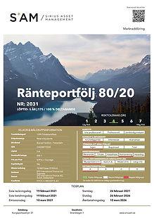 2031 Ränteportfölj_80_20_(CH0588772225).