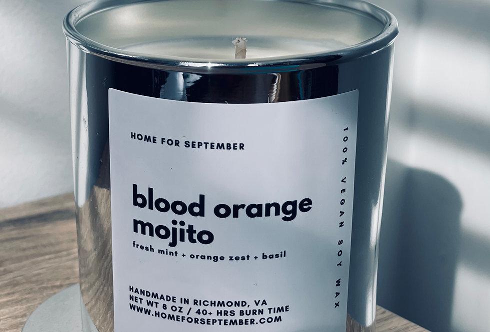 Blood Orange Mojito (Silver Vessel)