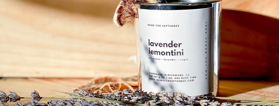 Lavender Lemontini (Silver Vessel)