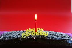 Cioccolato torta di compleanno