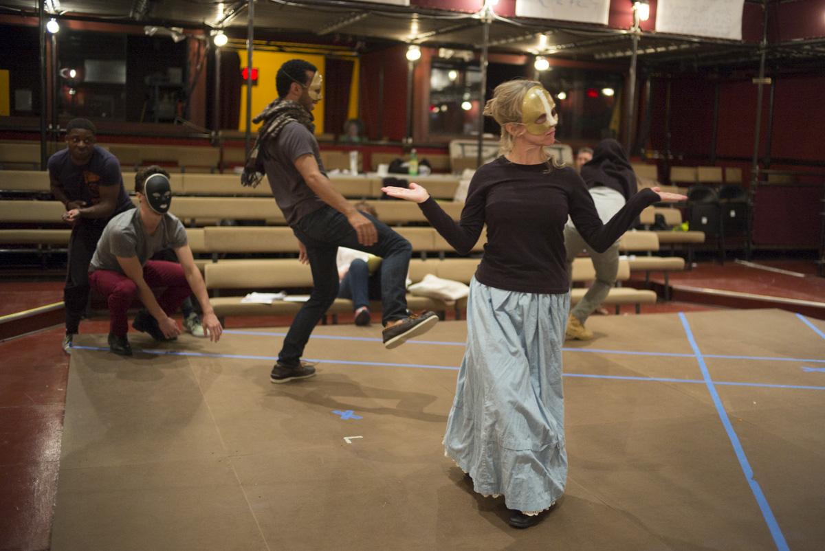 The Merchant of Venice (Rehearsal)