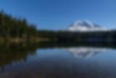 Mt Adams from Takhlakh Lake 1 no  WM_.jp