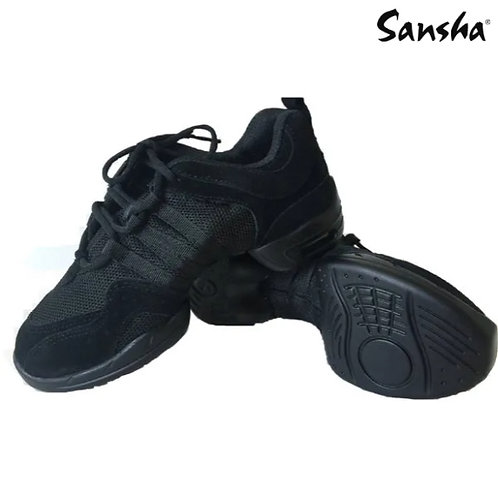 Sansha Black 'Tutto Nero' Sneakers