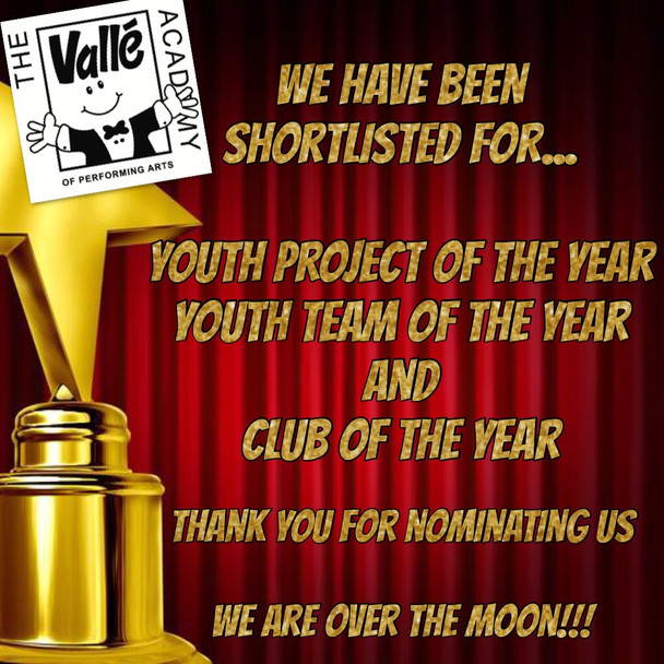 NEWS JUST IN FROM BROXBOURNE YOUTH AWARDS....
