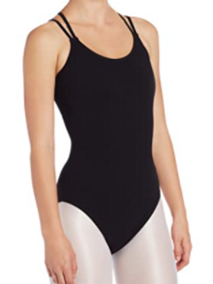 Double Strap Cami Leotard