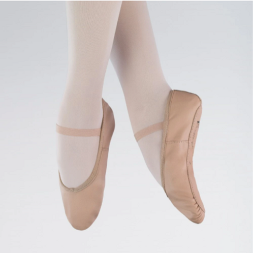 1st Position Leather Full Sole Ballet Shoes