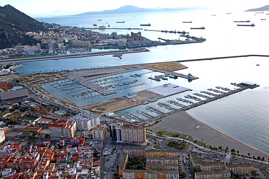 Alcaidesa Marin next to Gibraltar