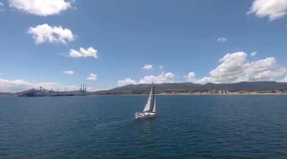 Sailing Gibraltar