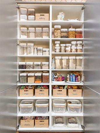 kitchen pantry organization after RS sm.