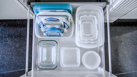 3 simple, free ways to get your food storage containers in order - and tips to keep them that way!