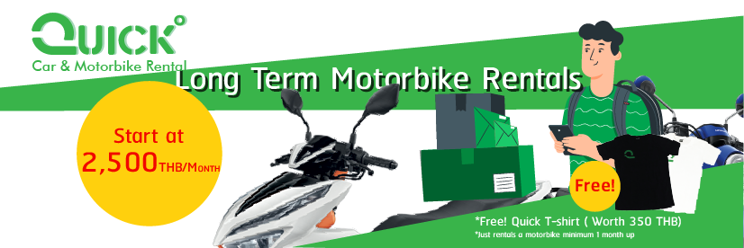 Long Term Motorbike Rentals Service