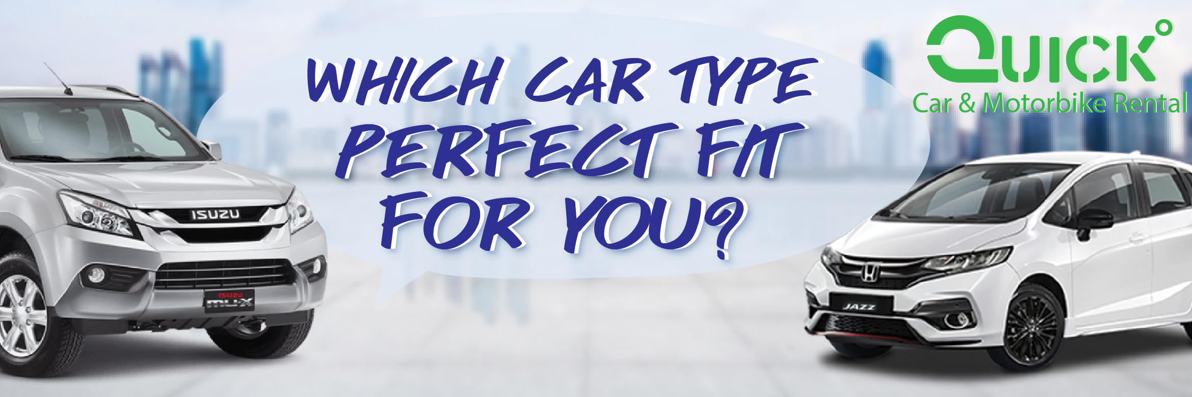 Which Car Type Perfect Fit For You?