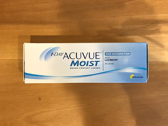 Acuvue Moist for Astigmatism Conf. 30 pz