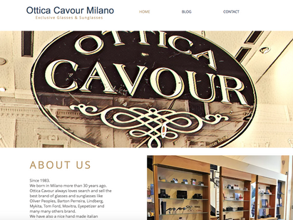 Welcome to Ottica Cavour Milano Website