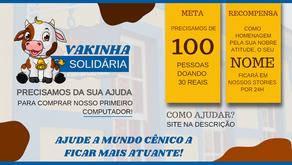 VAKINHA SOLIDÁRIA MUNDO CÊNICO