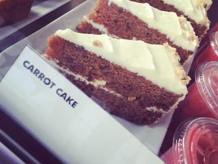 Notre pâtissier nous a préparé son carrot cake !